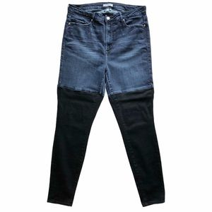 Good American Good Legs Two Tone Jeans 16
